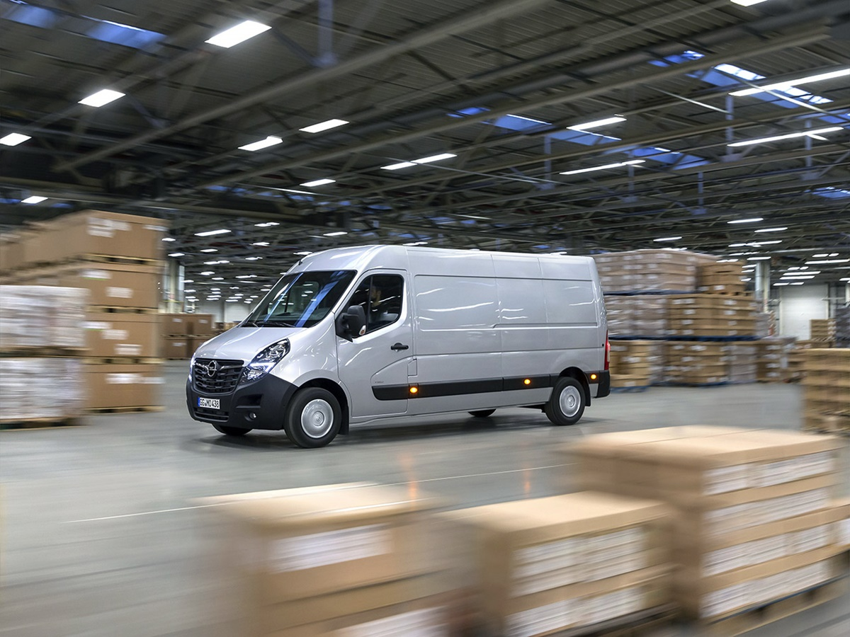Opel Movano lease