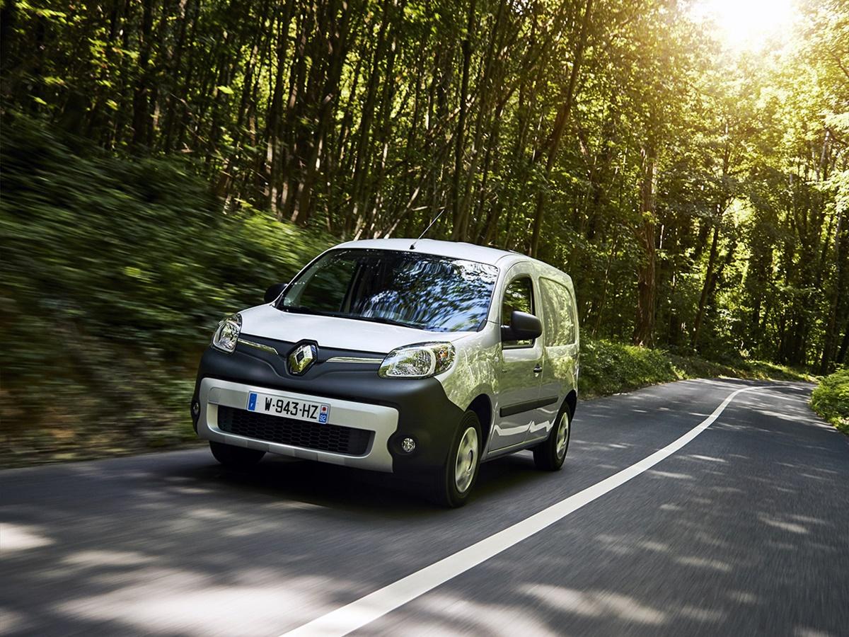 Renault Kangoo Z.E. lease